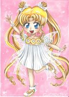 Chibi Serenity - Fanart Sailor moon by CrisAngy88