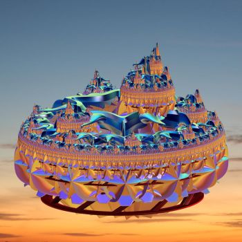 Sunset Citadel by impostergir007
