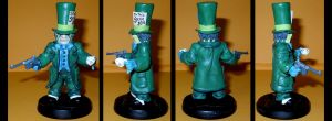 Mad Hatter Tim Sale style figurine by Ciro1984