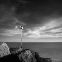 Sea Pole and Rocks by AgenttSmith