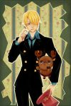 sanji and chopper by drchopper7