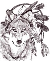 Dances With Wolves by red-devil-saz