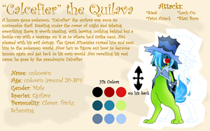 Calcefier the Quilava by Tattletail