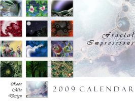 2009 Fractal Art Calendar by rocamiadesign