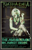 ZombieWalk on Market square Gig Poster by BANE-OF-MY-EXISTENCE