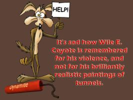 Wile E Coyote by friartuck40