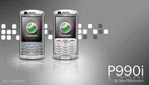 Sony Ericsson P990i Icons by weboso