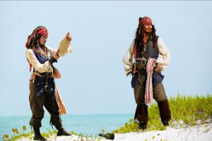 Elo and Jack Sparrow lost by elodie50a