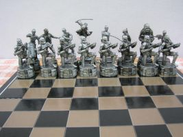 set of chess Star Wars by charlieest