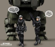 Battlefield 2142 by freelancemanga