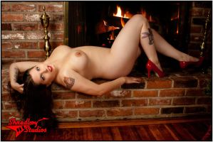 Warm by the fire by Morganlefey86