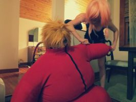 Fat Naruto. by mindless-cosplay