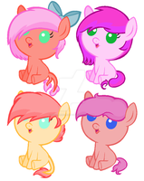 Breedable foals for SalkiNeoDucky by Shimmering-Adopts