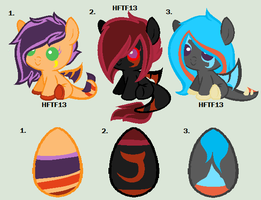 Dragon Pony Mystery Egg Adopts :closed: by HopeForTheFuture13