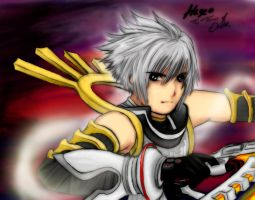 Haseo in Xth Form Collab by Seth-Cypher