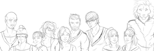 Captains WIP by InkieRose