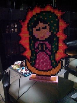 Virgencita Perler by Marsharino