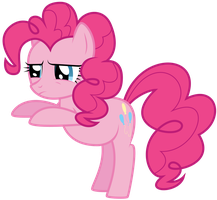 Pinkie Pie Is Not Sure If Want by ISkyArt