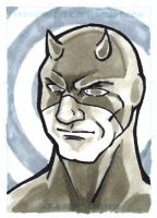 CTS Fort Rapids - Daredevil sketchcard by TravisTheGeek