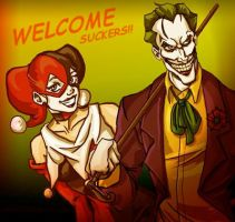 welcome suckers by xTERYLx