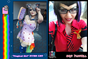 NYAN CAT + Gory Fangtell ~~ 2012 cosplay [preview] by lollivamp