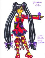 Fan Vocaloid Violet by Hyrulekeyblade