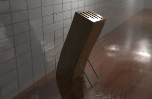 Knife stand by Flaeger