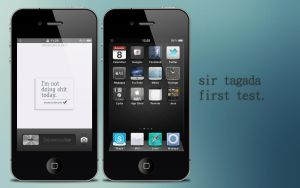 First test - Iphone by sirtagada