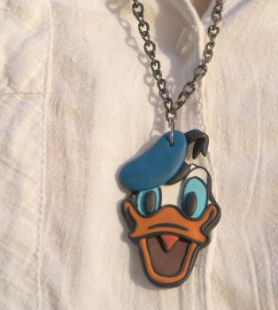 Donald Duck | Necklace by designandberries
