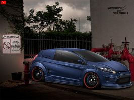 Ford Fiesta 2 by wegabond