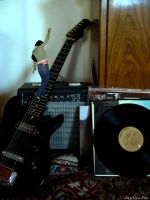 Scaling Guitar Strings by ShePretends