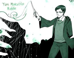 HP Tom Riddle by MaryIL