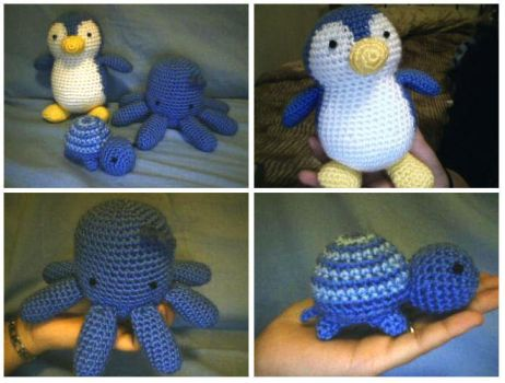 Crochet Plushie Collection by katrivsor