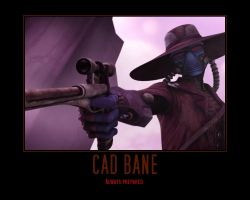 You Don't Mess with Cad Bane by Onikage108