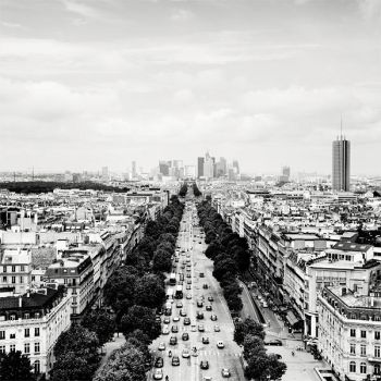 Paris Skyline La Defense by xMEGALOPOLISx