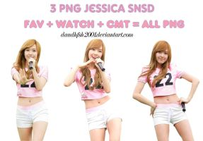3 PNG Jessica SNSD by daudhfsh2001