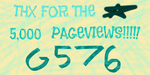 5,000 Pageviews by gameover576
