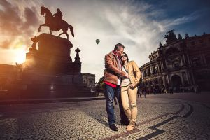 Love on Theatre Square by Torsten-Hufsky