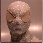 spiderman Lsb face by loqura