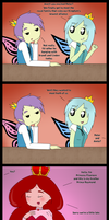 Meeting the Prince of Love ~ Mini Comic by AlwaysForeverHailey