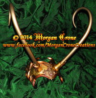 Filigree Diadem for Lady Loki Cosplay Commission by MorganCrone