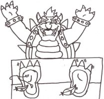 Bowser tickled by zp92