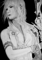 Final Fantasy XIII Lightning by mystic-pUlse