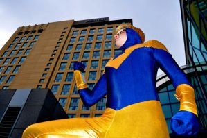 Fanime 2011 - Booster Gold by Cosphotos