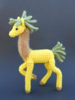 Pineapple Llama by Pickleweasel360