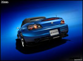 Honda S2K Deep Blue by josepa