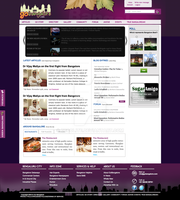 Go Bangalore Website by decolite