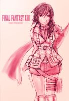 Final Fantasy 13: Lightning by zamboze