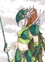 Green Valkyrie by temperance