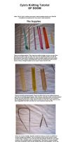 HOW TO KNIT: THE SUPPLIES by cyla-knits